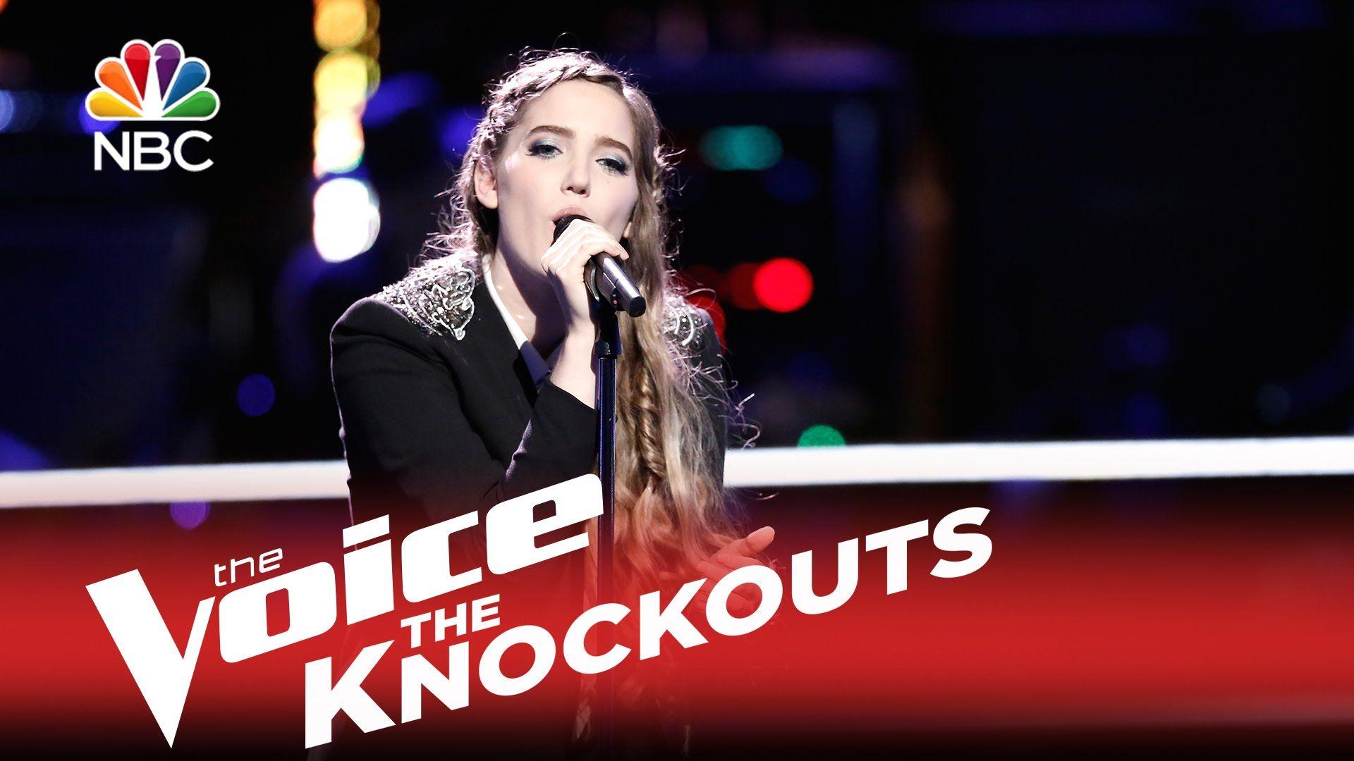 The Voice 2015 Knockout Korin Bukowski All I Want The Voice Tv Show The Voice 2015 Voice Singer