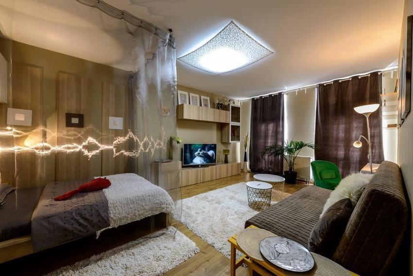 Egyszobás lakás hosszú távú bérbeadásra berendezve - 25m2 nappali ...