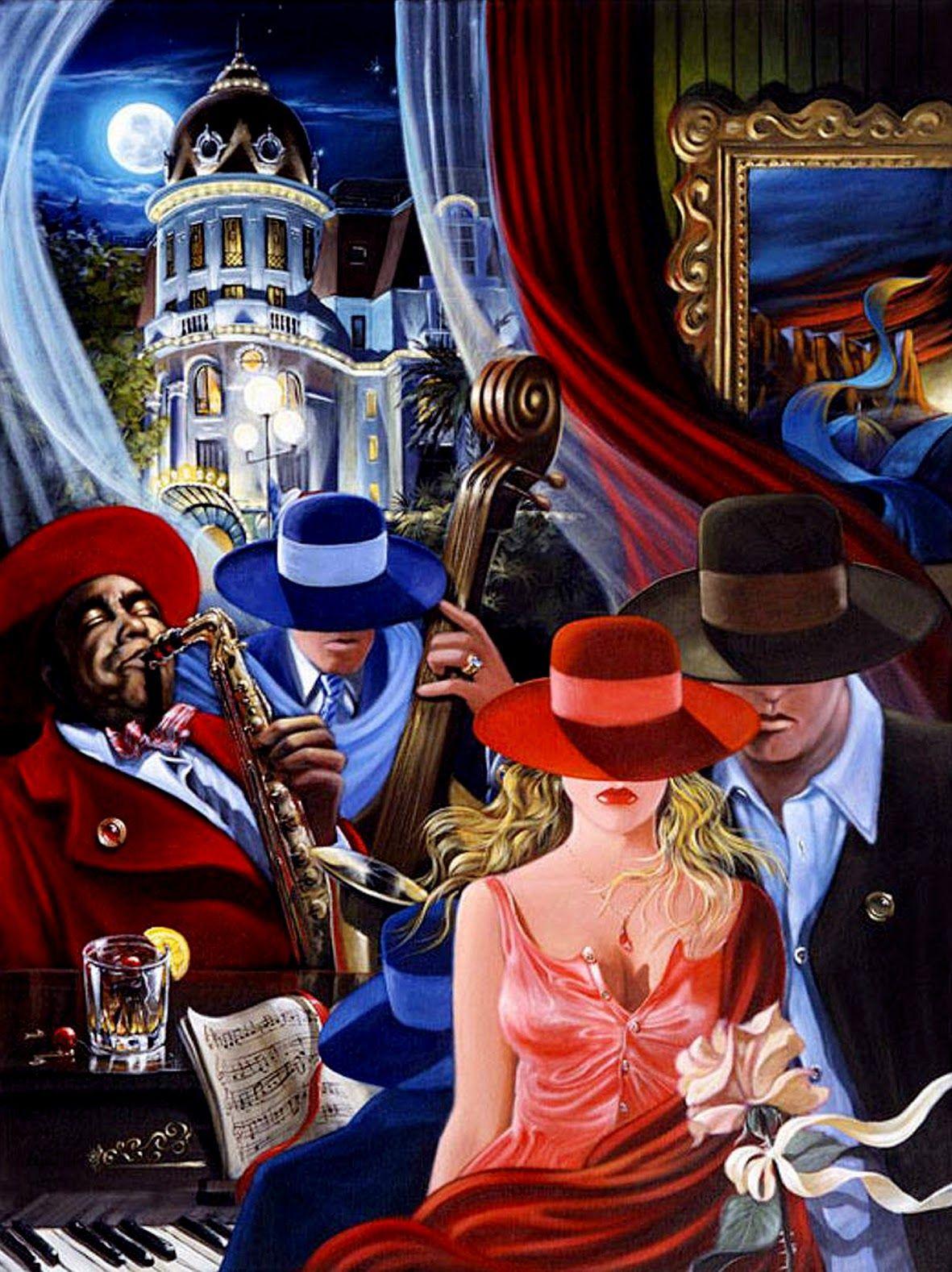 Творчество Victor Ostrovsky Arte, Arte del jazz