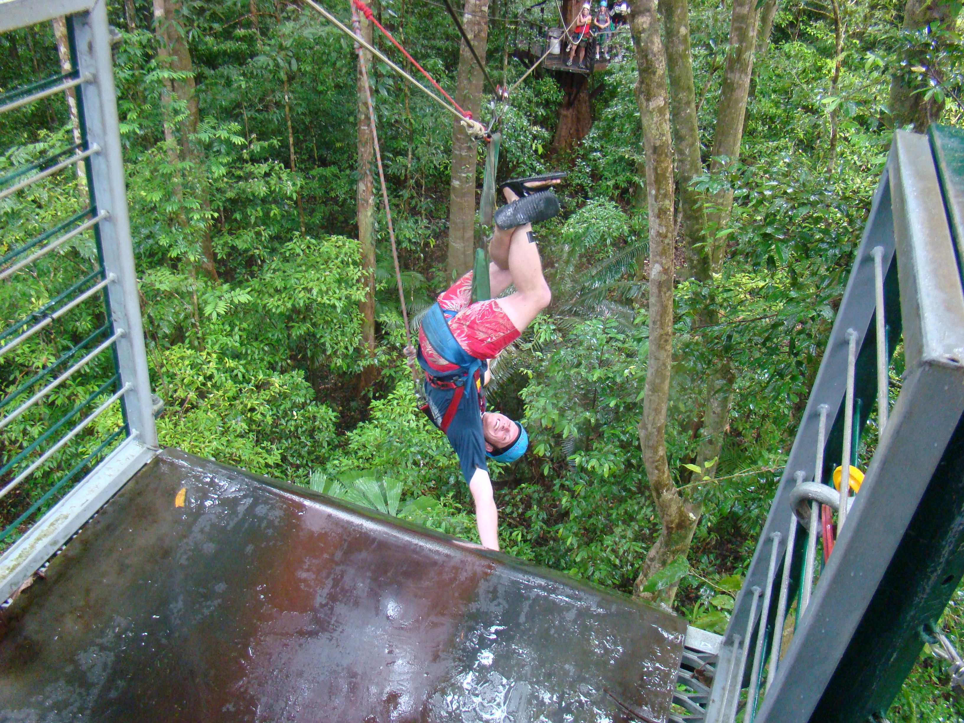 Cape Tribulation // Australien - Ziplining im Jungle