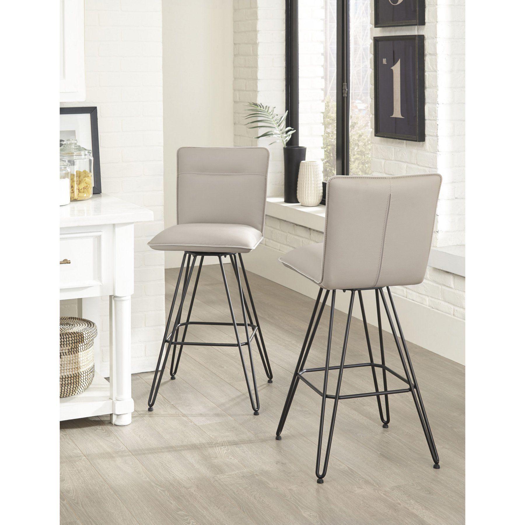 Outstanding Modus Demi Hairpin Leg Swivel Bar Stool Set Of 2 Mod1097 Unemploymentrelief Wooden Chair Designs For Living Room Unemploymentrelieforg
