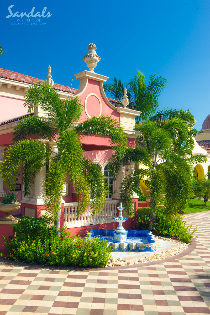 Blissful gardens and fountains. #SandalsSouthCoast | Sandals Resorts ...