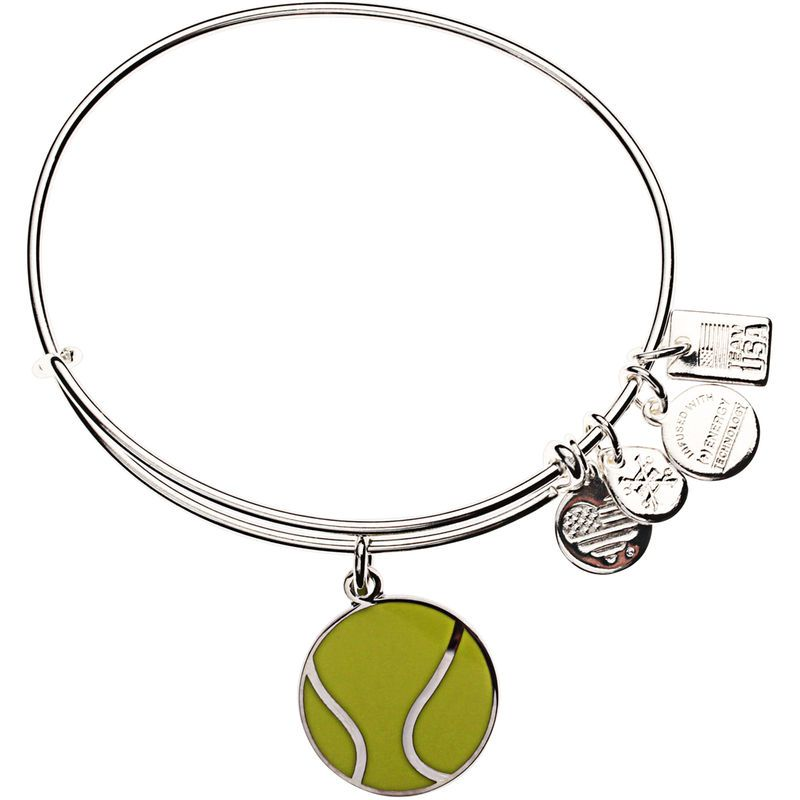 Team USA Alex and Ani Tennis Expandable Bracelet - Silver