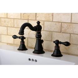 bronze bathroom faucets. American Patriot Two tone Oil Rubbed Bronze Bathroom Faucet by