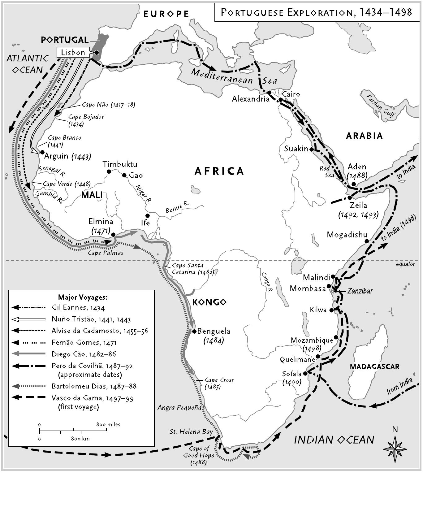 portuguese expeditions africa   Gradual Exploration of West Africa
