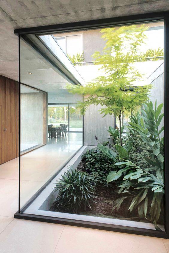 Concrete Bench Garden