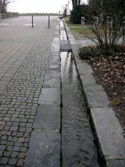 stormwater channel | Stormwater | Drainage channel, Garden