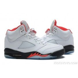 716bf7f3dd822e Air Jordan 5 Retro Kaede Rukawa Mid White Black Red