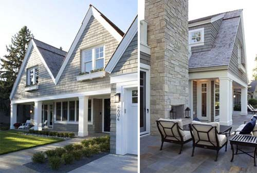shingle style residence contemporary house design by charlie co
