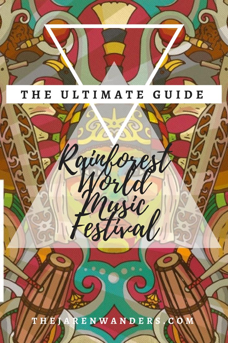 Image Result For Rainforest Festival Sarawak Poster Rainforest World Music Festival Sarawak Music Festival Poster