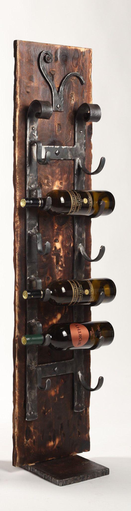 Floor standing 39 old world 39 wine racks 4 39 artesanias - Botelleros de obra ...