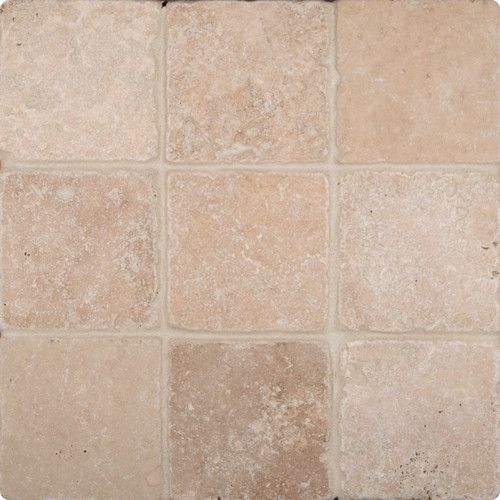 Found It At Wayfair Tuscany Clic 4 X Travertine Field Tile In Tumbled Beige