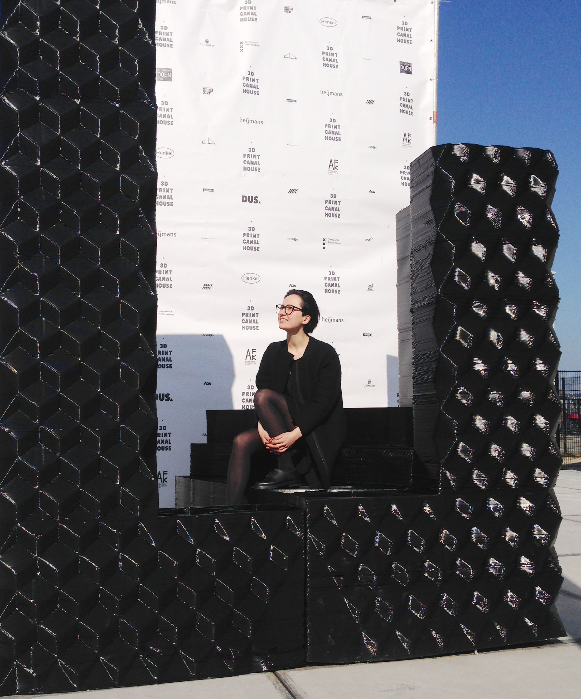 Building Blocks Of The 3D Print Canal House
