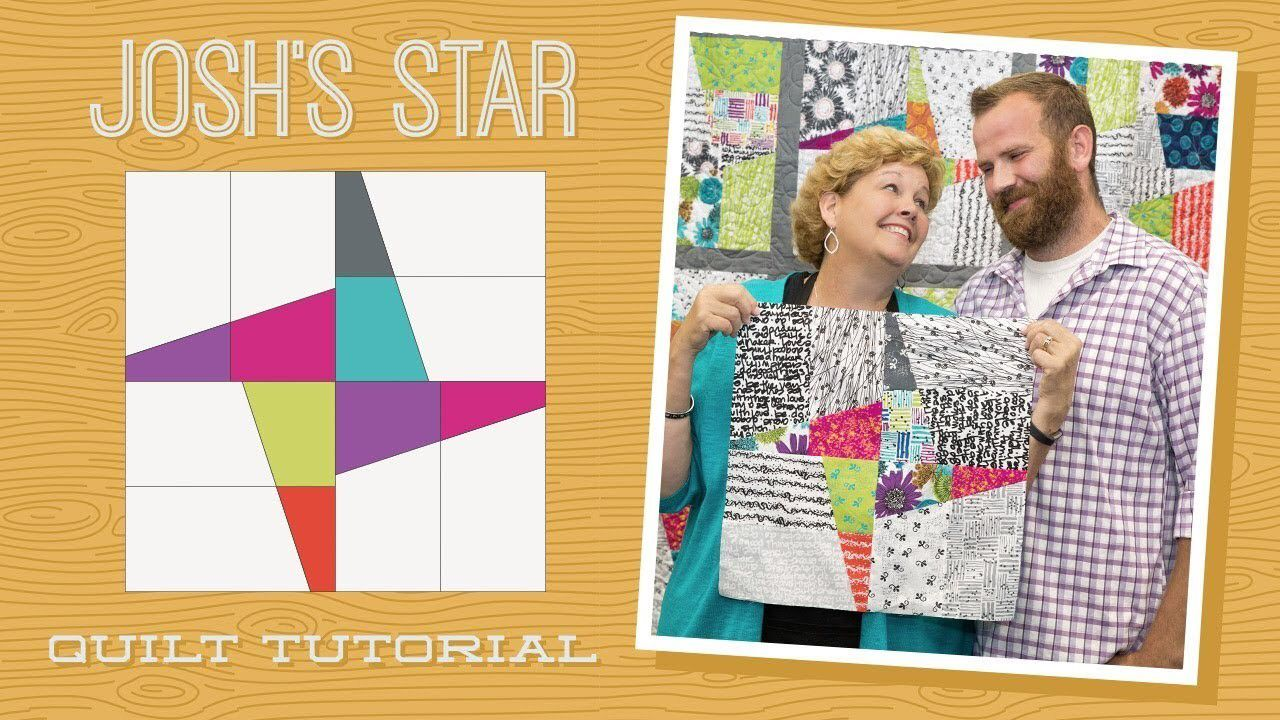 Make A Joshs Star Quilt With Jenny And Josh Doan Quilting