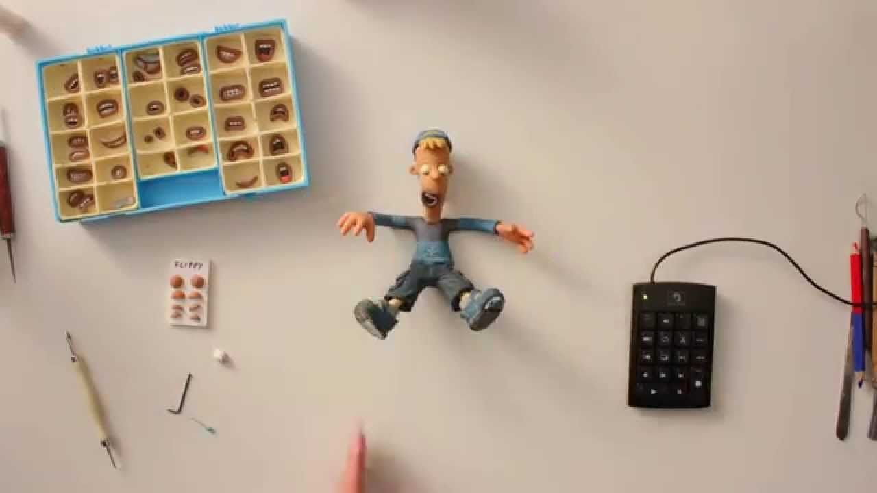how to make a puppet for stop motion animation. Great clip but it\'s ...