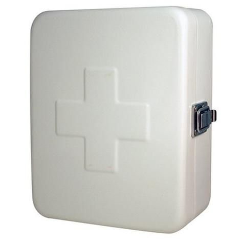 Kikkerland First Aid Box White First Aid Kit Box First Aid Supplies First Aid Kit