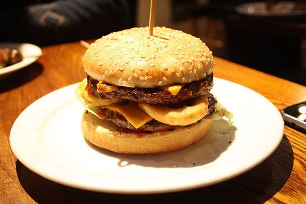 Jungle Braai Halal Girl About Town Burger Halal Burgers Beef Burger
