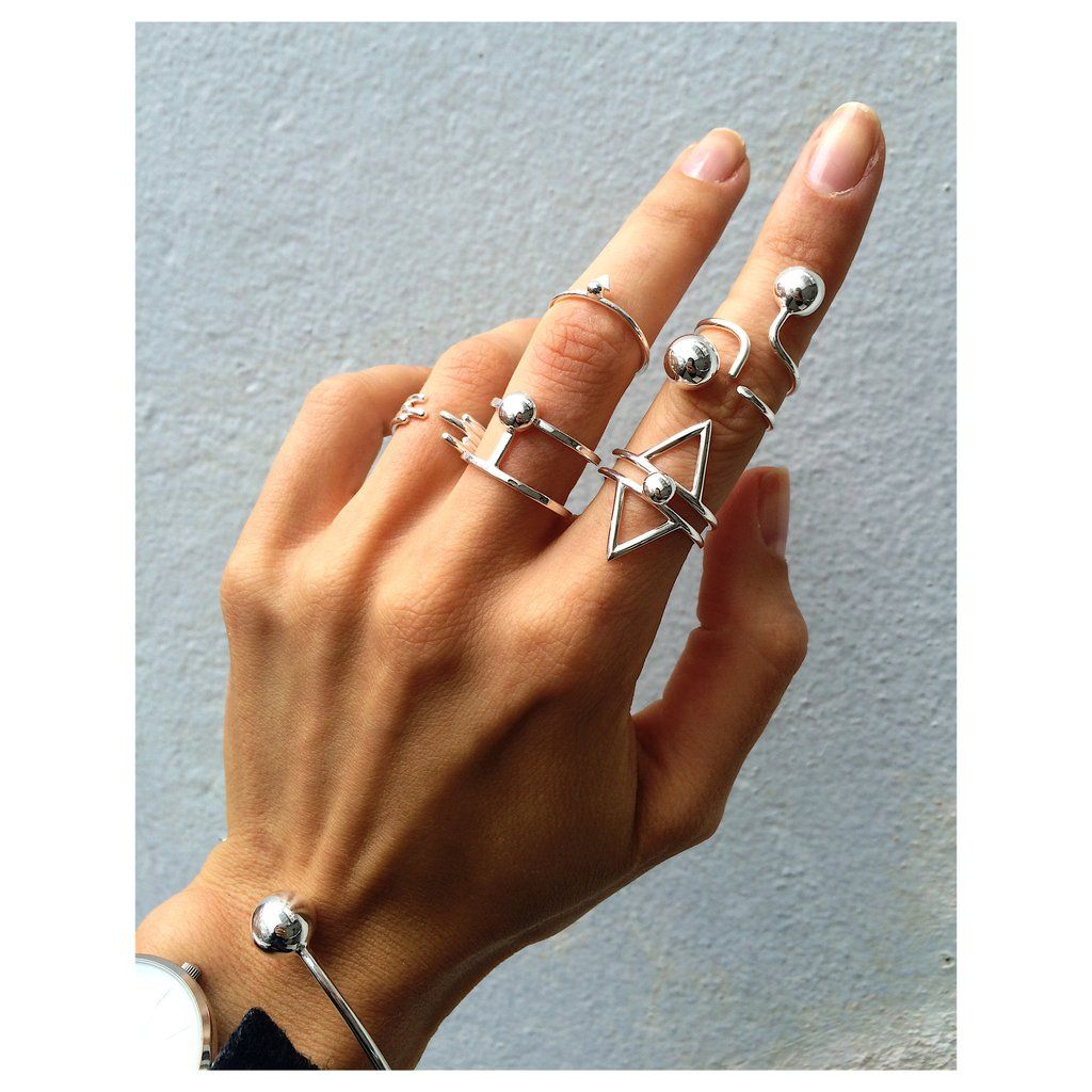 Collectable rings by VERA VEGA. www.veravega.com.