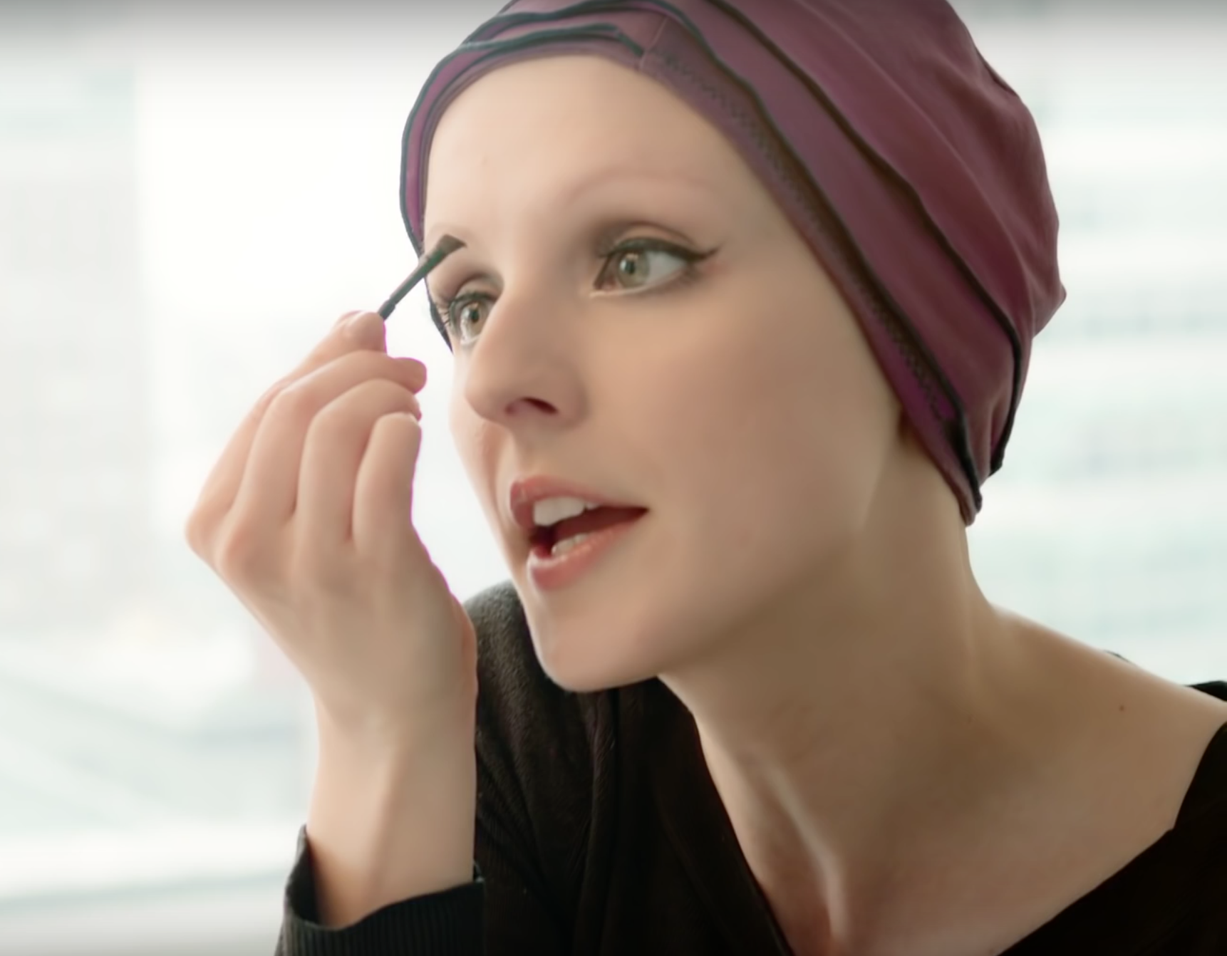 The Ultimate Brow Tutorial By Carly Severn A Beauty With Alopecia