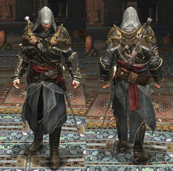 Ezio Auditore Master Assassin S Armor In Revelations Assassins