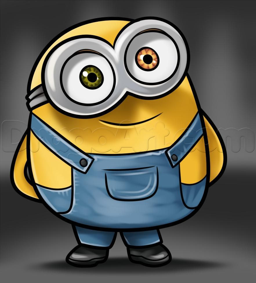 how to draw bob from minions todo in 2019 minions