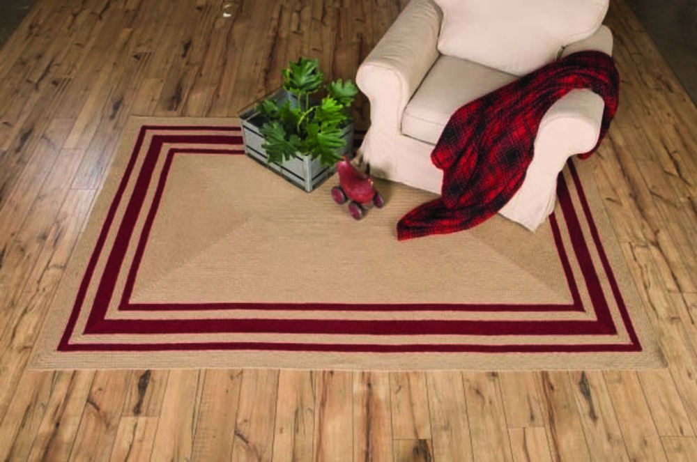 Country farmhouse braided area rugs oval rectangle