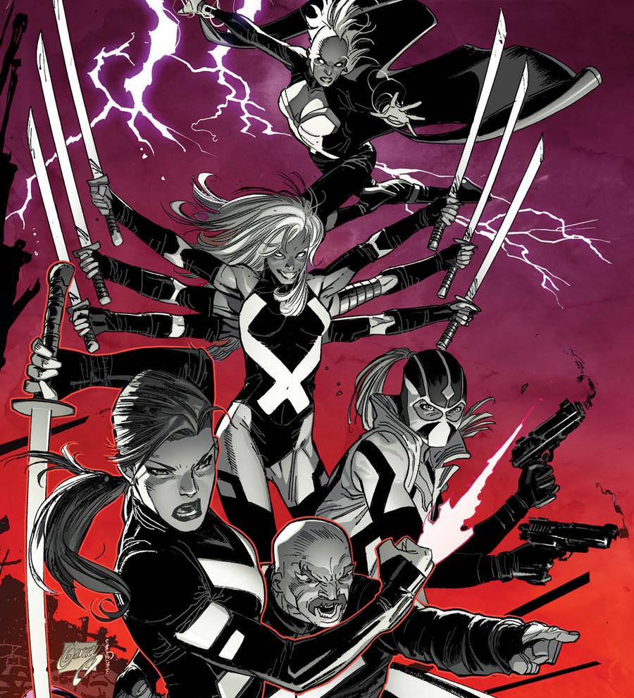 Marvel psylocke x force