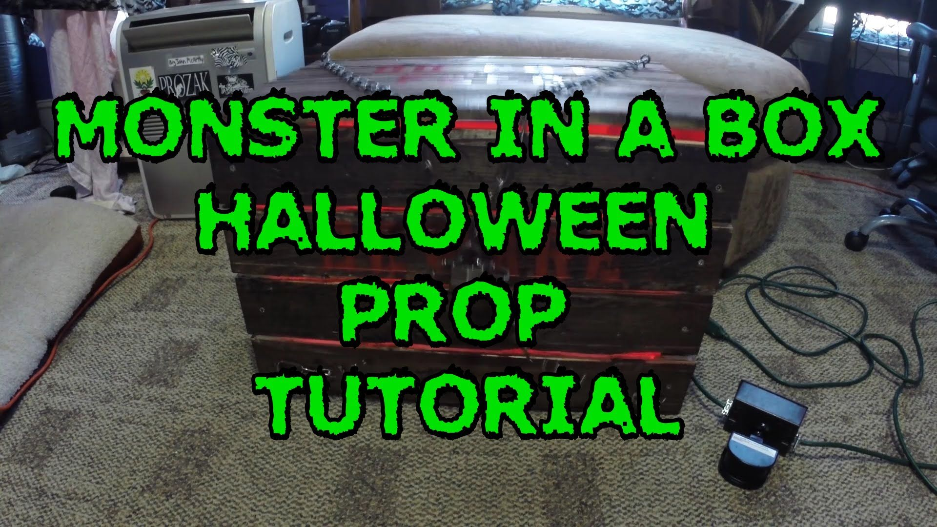 This Is An In Depth Tutorial On How To Build A Monster In A Box