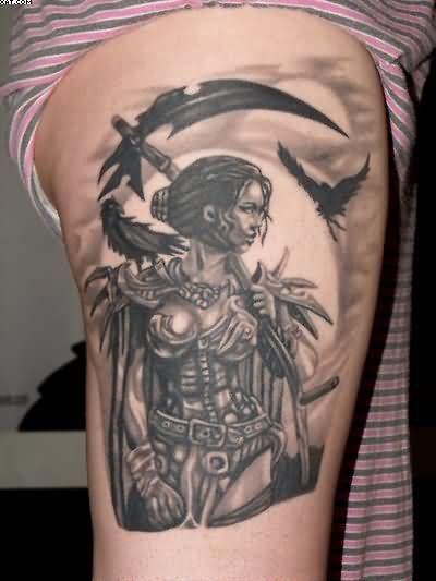 Viking Women Warriors Tattoos Warrior Tattoos Tattoes Idea 2015