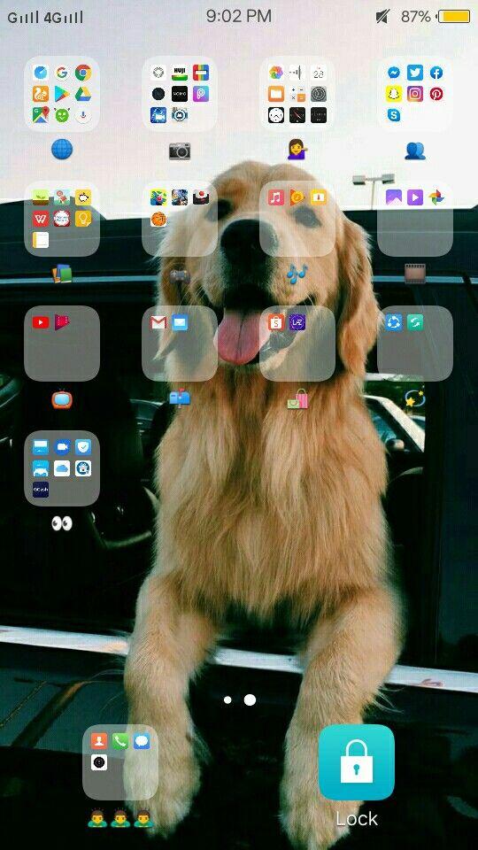 Aesthetic app organize ⚡📲