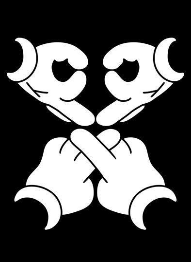 Drake Ovoxo Mickey Hands Tank Top Vest Ovo Owl Bohemian Grove