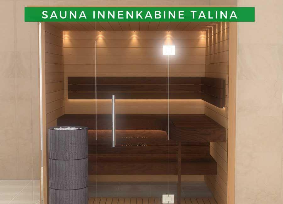 Sauna Innenkabine Modell 2 Talina In 2019 Innensauna Die