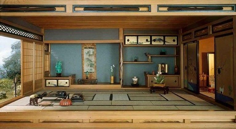 40 Cozy Japanese Style Living Room Decoration Ideas Japanese