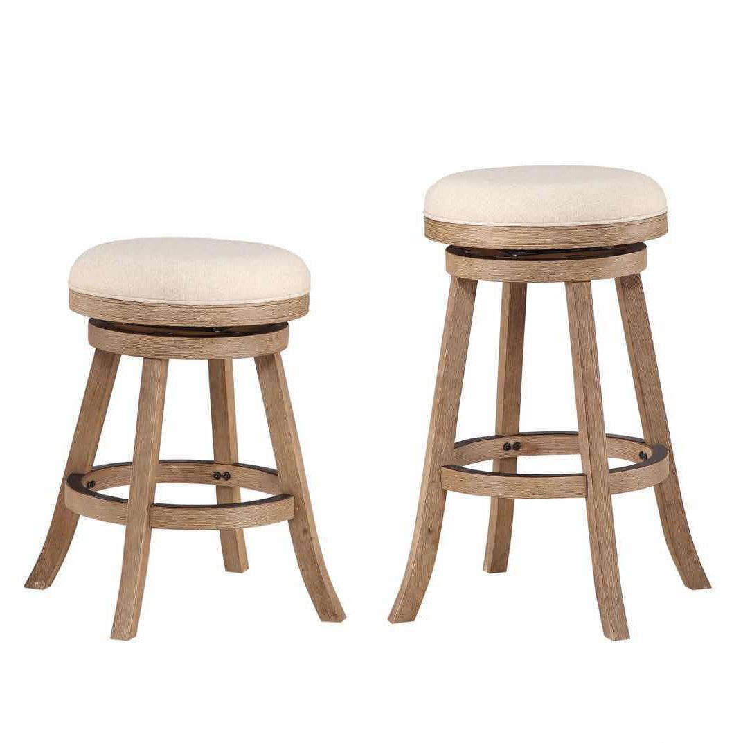 The Gray Barn Parker 24 Inch Backless Counter Stool Grey Bar