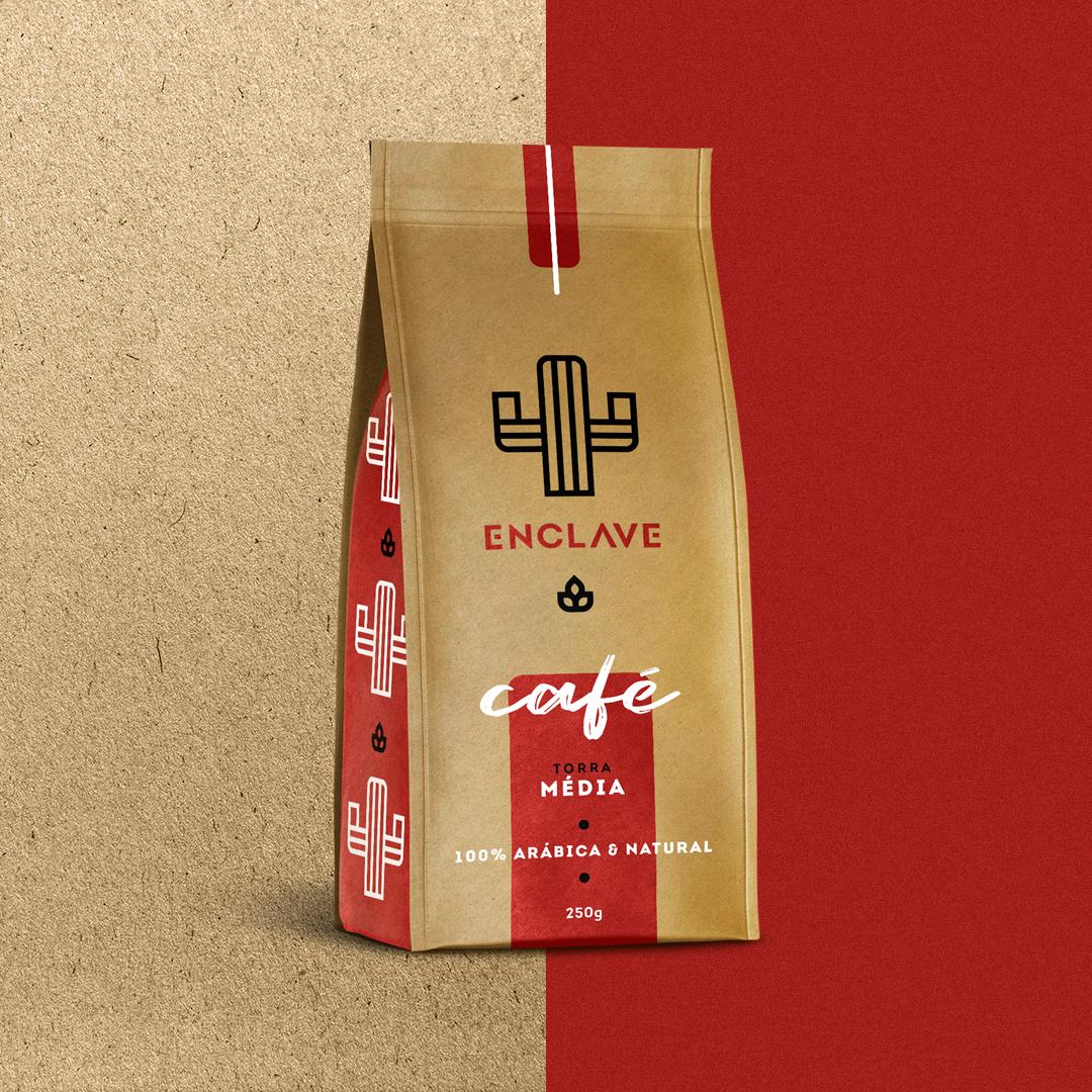 Enclave Store - Coffee Package / Packaging #design #coffee