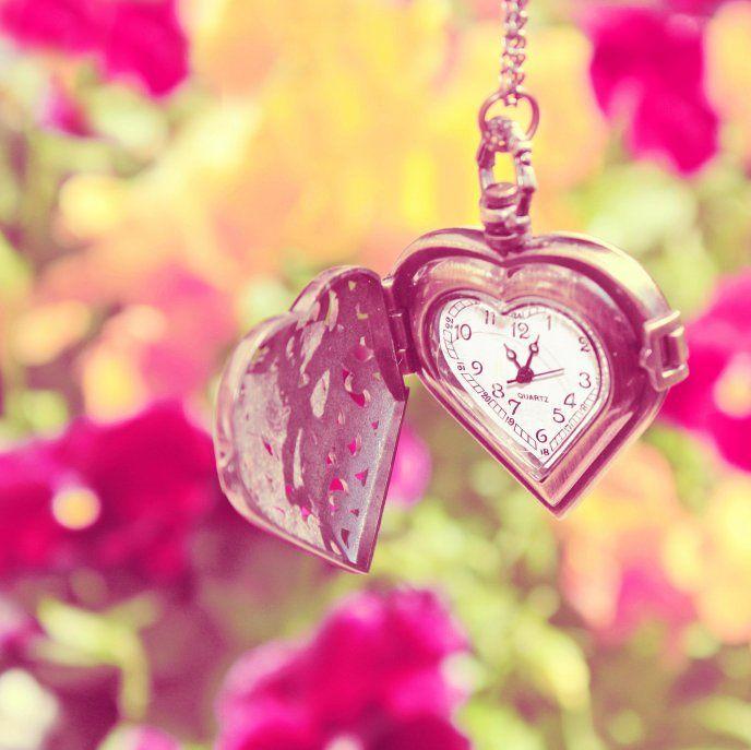 Lovely Google Search Heart Locket Heart Watch Accessories