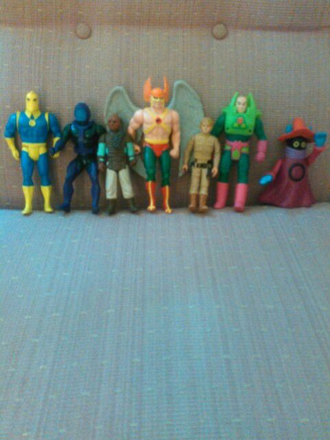 Some of the other figures that were in the box I found in the box!! I can't believe I saved them😉