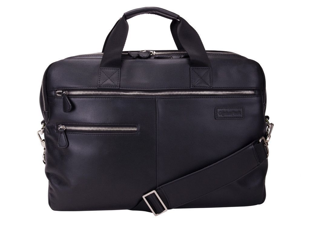 6d37371f60d9 Luxe Leather Laptop Briefcase