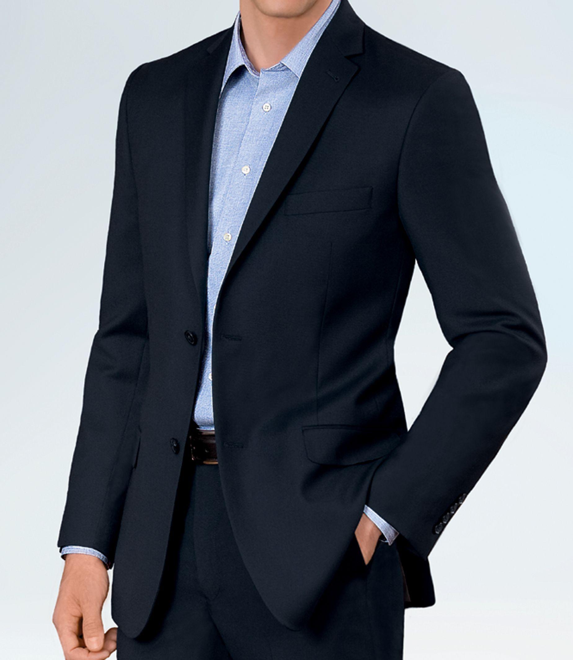 Crossover Slim Fit 2 Button Suit Plain Front Trousers Suits Mens Fashion Wear Suits Clothing