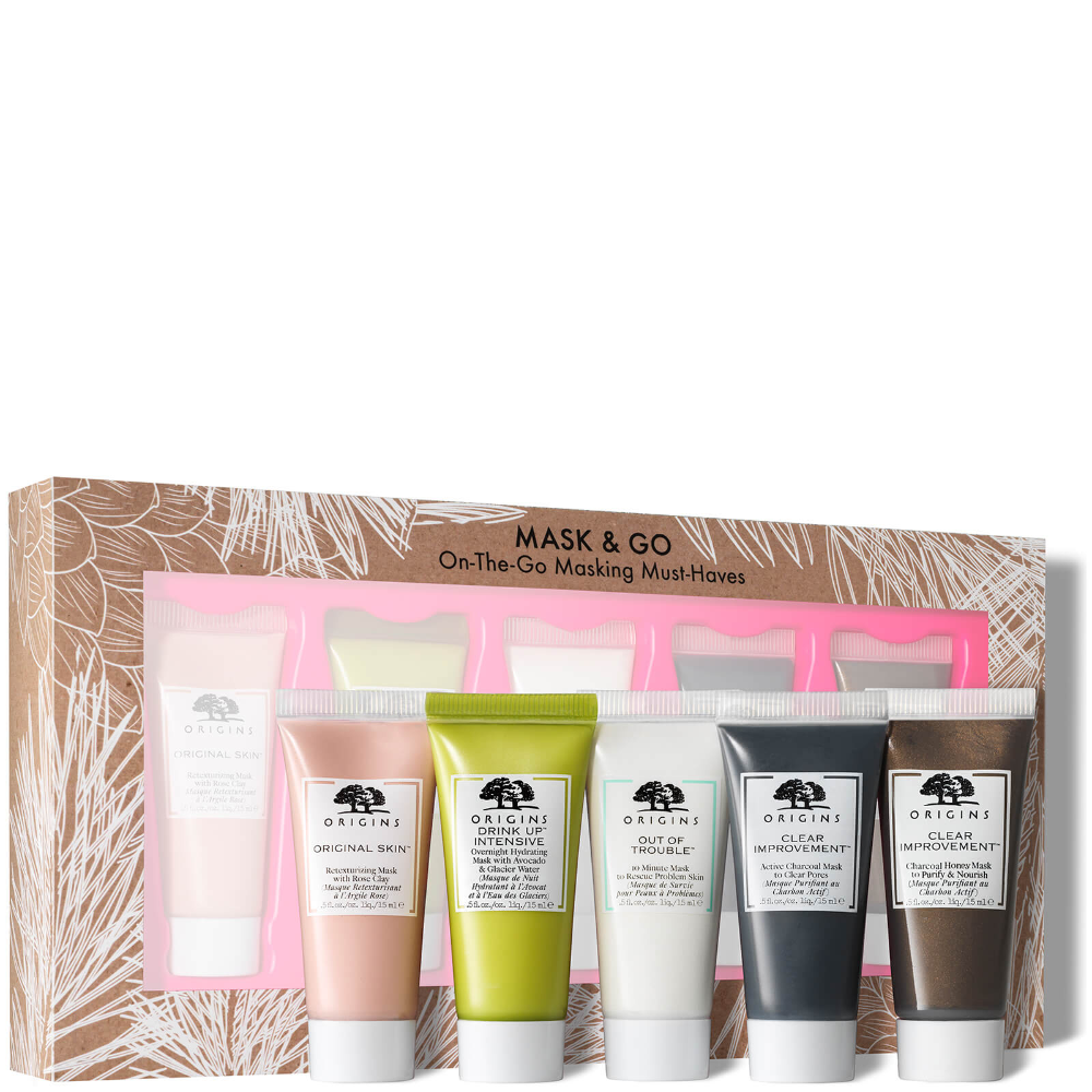 Origins Mask And Go On The Go Masking Must Haves Clary Oil Active Charcoal Mask The Originals