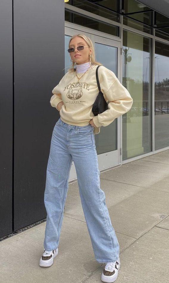 Yosemite Sweater outfit