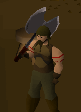 Can we get this axe as a reward for Barbarian Assault? | RuneSwap