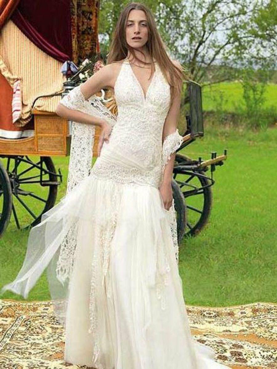 Vestidos largos baratos hippies
