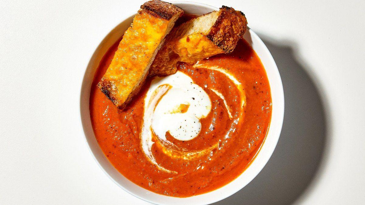 Wordpress Com Tomato Soup Creamy Tomato Soup Cheesy Fries