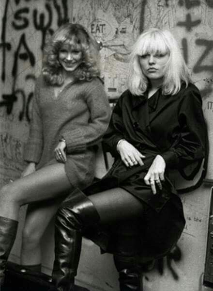 Sable Starr and Debbie Harry
