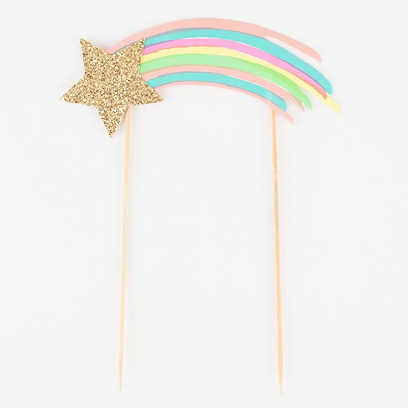Cake Topper a tema unicorno - arcobaleno • I Believe In ...