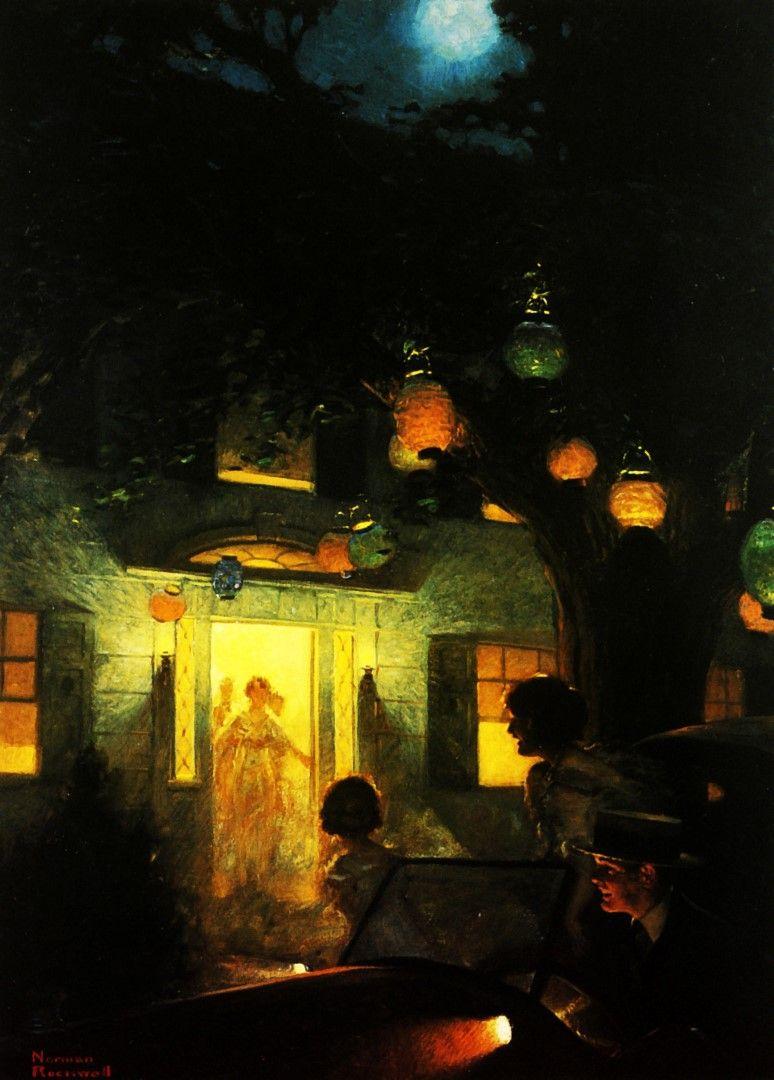 1920 norman rockwell lumire symbole de bienvenue light symbol of 1920 norman rockwell lumire symbole de bienvenue light symbol of welcome huile sur toile 102x71 cm biocorpaavc Gallery