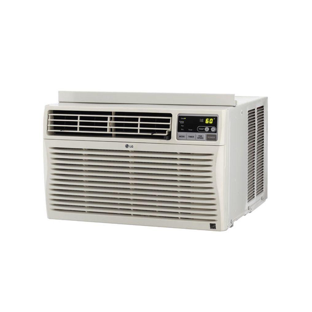 Lg Lw8013er 8 000 Btu Window Air Conditioner With Remote Window