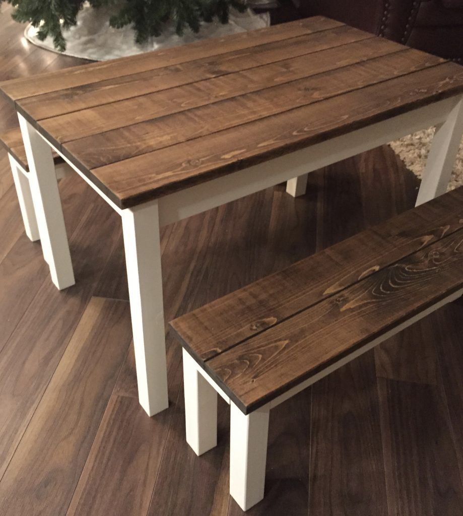 Small Farmhouse Table For Emma Kids Wooden Table Diy Kids Table