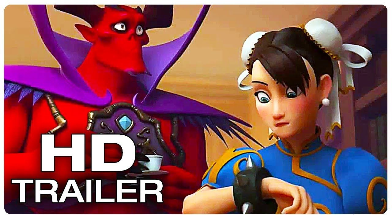 WRECK IT RALPH 2 Chun Li Street Fighter Scene Trailer (NEW
